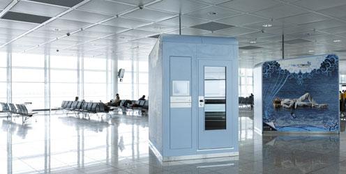 ¿Napcabs¿ sorgen für Privatsphäre am Flughafen (Bild: napcabs GmbH)