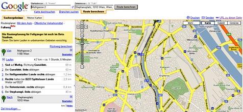 Online-Landkarten helfen Polizei und Kriminellen