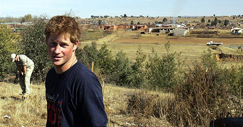 Frecher Dieb in Lesotho bestahl Prinz Harry