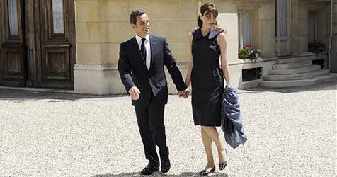 Sarkozy und Carla Bruni auf Sommerurlaub