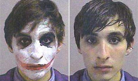 """""""Joker"""" zu einem Tag Gefängnis verurteilt"""