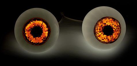 Augen-Lampe als Blickfang (Bild: Cinqcinqdesigners.com)