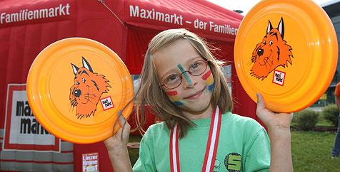 Maxi-Maler Spaß für die Kleinen (Bild: Chris Koller)