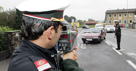 Schnellfahrer blechen in Steiermark 20 Euro mehr (Bild: Sepp Pail)