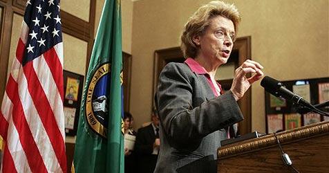 "61-jährige US-Gouverneurin zu ""jung"" für Bar (Bild: ap)"