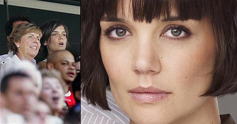 Katie Holmes schmei�t ihre Schwiegermutter raus