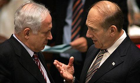 Netanyahu fordert nach Olmert-Rücktritt Neuwahl