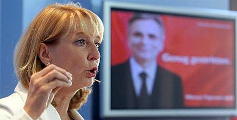 """SPÖ-Motto für Wahlen: """"Genug gestritten"""" (Bild: APA/Georg Hochmuth)"""