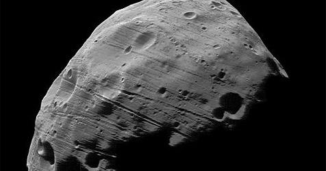 Sonde liefert Bilder von Marsmond Phobos (Bild: ESA/DLR/FU Berlin)