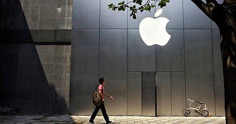 Apple legt bei Gewinn kräftig zu