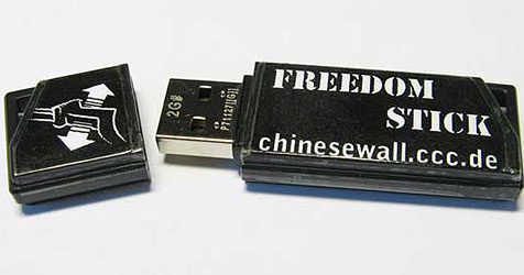 "Tools tricksen Chinas ""Große Firewall"" aus (Bild: ccc.de)"