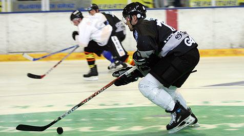 Black Wings verlieren 0:2 in Graz (Bild: Jürgen Radspieler)