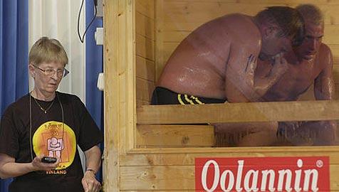 Finnen bleiben Sauna-Weltmeister (Bild: AP)