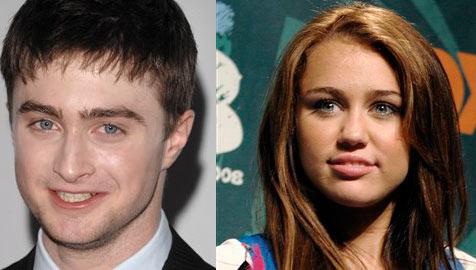 Radcliffe und Cyrus sind erfolgreichste Youngsters (Bild: ap)