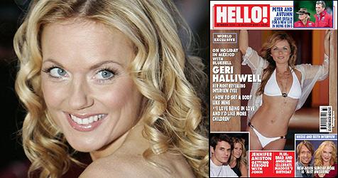 Geri Halliwell in Bestform