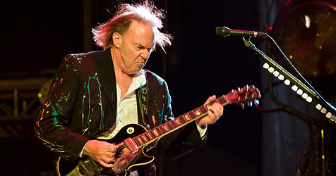 "Neil Young begeistert am ""Lovely Days"" (Bild: Andreas Graf)"