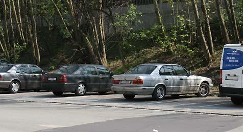 Letzte kostenlose Parkplätze in Linz verschwinden