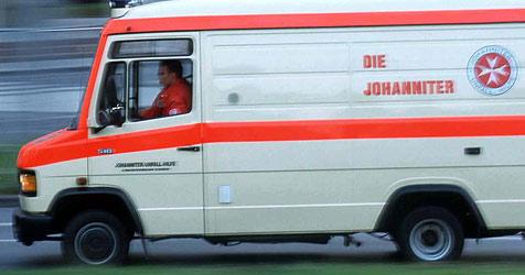 Pensionist von Auto überfahren (Bild: Johanniter Unfallhilfe)