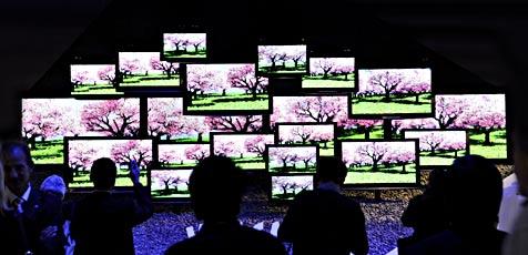 Kalifornien erklärt stromfressenden TVs den Krieg (Bild: EPA)