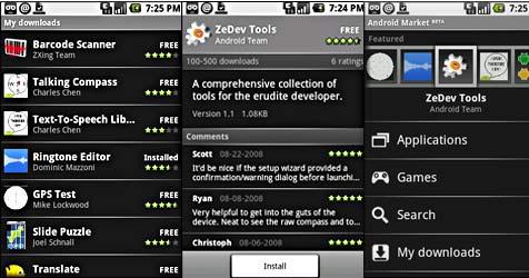 Konkurrenz-Angebot zu iPhone-Store vorgestellt (Bild: Google)