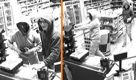 Maskenmänner überfallen Tankstelle (Bild: sido)