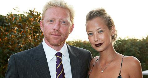 Boris Becker und seine Verlobte in Luzern (Bild: dpa/A3446 Patrick Seeger)