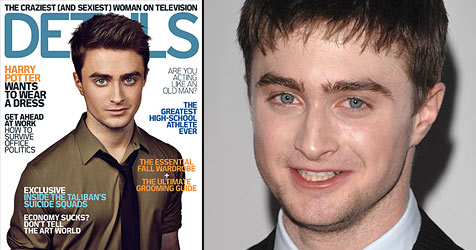 Daniel Radcliffe packt über sein erstes Mal aus (Bild: Magazin Details, AP Photo)