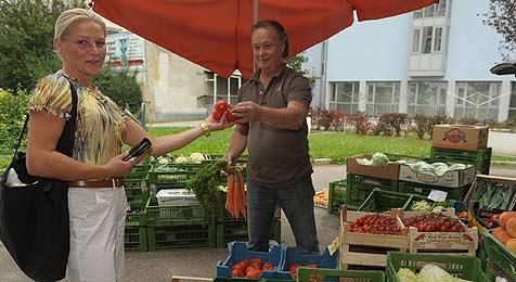 Urfahraner Grünmarkt ist unendliche Geschichte (Bild: Markovsky)