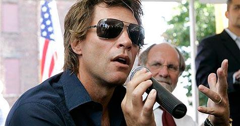 Jon Bon Jovi lud zum Spendendinner für Obama
