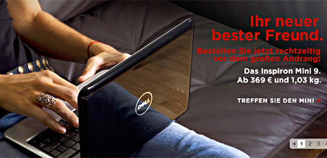 """Dells Antwort auf den """"Eee PC"""" (Bild: Dell)"""