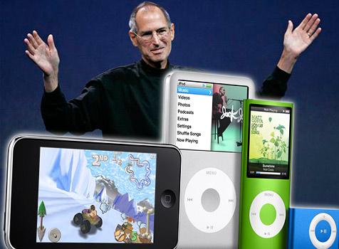 Apple: Face-Lifting bei den iPods - sonst nichts