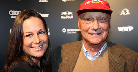 Die Zwillinge von Niki Lauda sind da (Bild: APA/Georg Hochmuth)