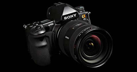 Vollformatkamera mit 24,6 Megapixeln von Sony (Bild: Sony)