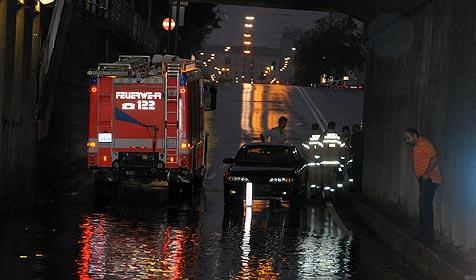 2008 war Sommer der Sintflutregen (Bild: Markovsky)