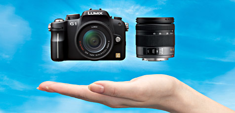 Digitale Kompaktkamera mit Wechselobjektiv (Bild: Panasonic)