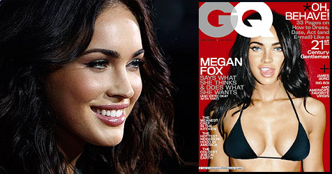 "Megan Fox: ""Ich war einer Stripperin verfallen"" (Bild: AP Photo, Cover GQ Magazine)"