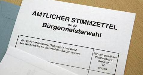 Wahlkampf-Finale um Bürgermeister-Stuhl in Braunau (Bild: APA/Robert Newald)