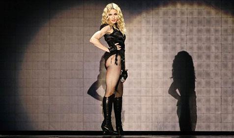 Madonna offenbar nur wenige Stunden in Wien