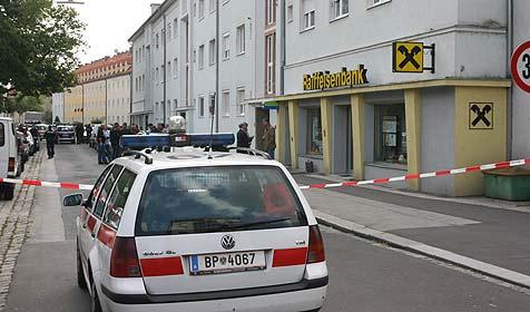 Bankräuber direkt nach Tat erwischt (Bild: Horst Einöder)