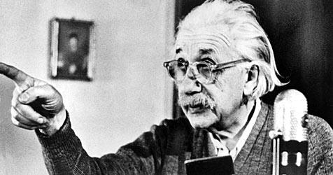 Vor 100 Jahren präsentierte Einstein seine Theorie (Bild: dpa)