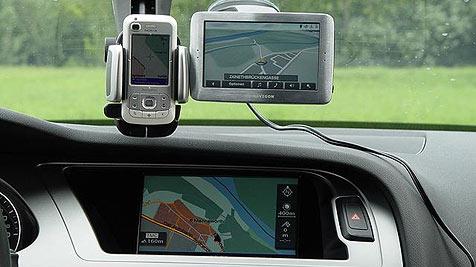 GPS-Handys setzen Navi-Hersteller unter Druck (Bild: ÖAMTC)