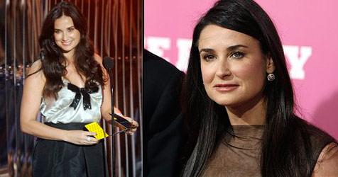 Demi Moore hat fast zehn Kilo zugenommen