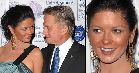 Catherine Zeta-Jones mit peinlichem Make-up