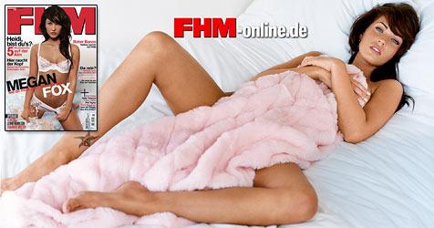 "Megan Fox: ""Ich habe immer Lust auf Sex"" (Bild: Steven White / FHM November 2008)"