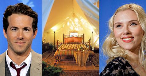 Johansson: Hochzeitsnacht im Zelt (Bild: Clayoquot Wilderness Resort)