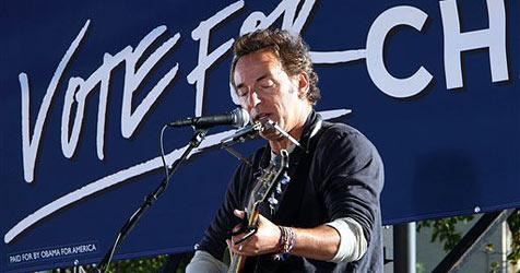 Bruce Springsteen rockt wieder für Obama