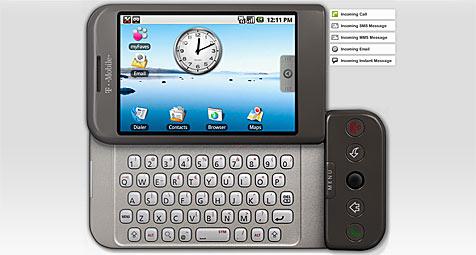 G1-Handy schon jetzt im Browser testen
