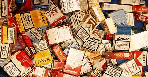 Zigaretten für 15.000 Euro mitgenommen (Bild: Jürgen Radspieler)