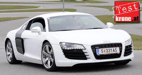 Der Audi R8 im H�rtetest (Bild: Andi Graf)