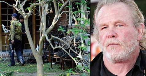 Nick Nolte bei Feuer in seiner Villa verletzt